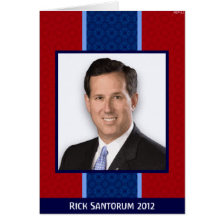 Rick Santorum Tarjeta De Felicitación