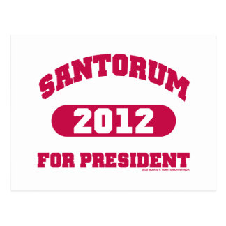 Rick Santorum Tarjetas Postales