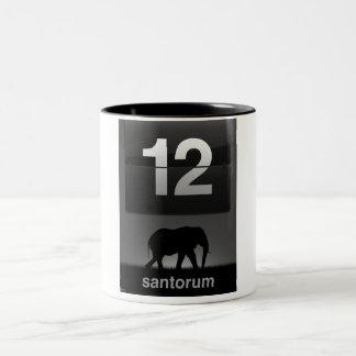 Rick Santorum Two-Tone Coffee Mug