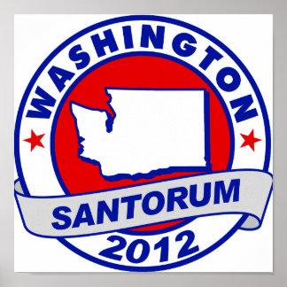 Rick Santorum Washington Posters