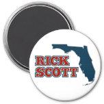 Rick Scott for Florida 3 Inch Round Magnet