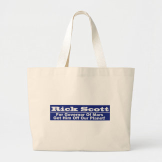 Rick Scott for Governor of Mars Tote Bags
