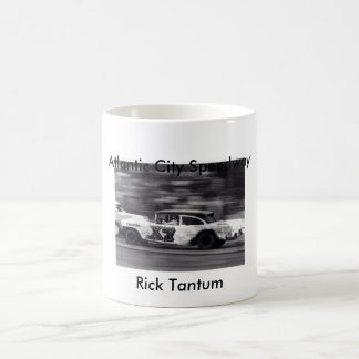 Rick Tantum, Atlantic City Speedway Classic White Coffee Mug
