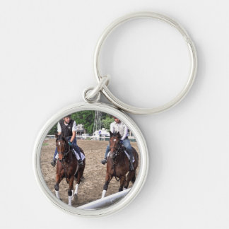 Rick Violette Morning Workouts at Saratoga Keychain