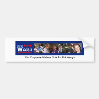 Rick Waugh for Congress Bumper Sticker