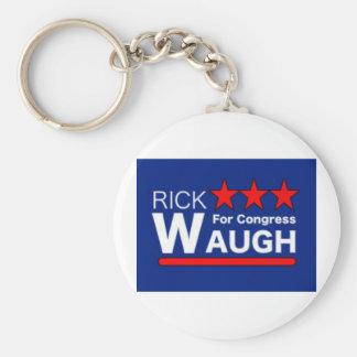 Rick Waugh para el congreso Llavero Redondo Tipo Pin