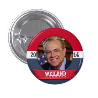 RICK WEILAND CAMPAIGN PINBACK BUTTON