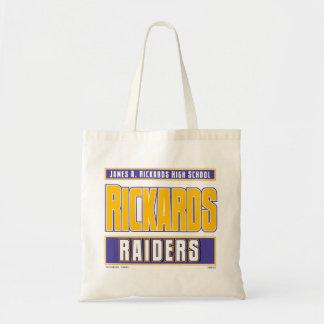 RICKARDS HIGH SCHOOL RAIDERS TOTE BAGS