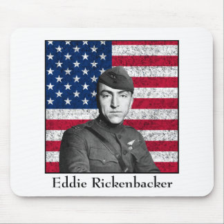 Rickenbacker and The American Flag Mouse Pad