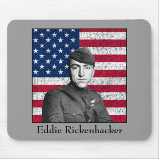 Rickenbacker and The American Flag Mousepads