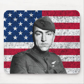 Rickenbacker and The U.S. Flag Mousepads