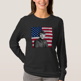 Rickenbacker and The U.S. Flag T-Shirt