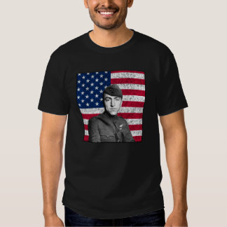Rickenbacker and The U.S. Flag T-shirt