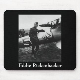 Rickenbacker que presenta con su avión alfombrillas de raton