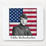 Rickenbacker y la bandera americana alfombrilla de raton