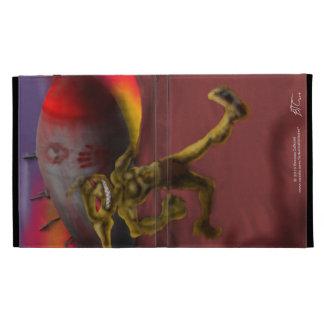 Ricket Rauncher Goblin I-Pad Case iPad Folio Cover