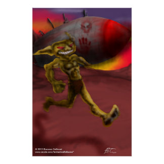 Ricket Rauncher Goblin Poster