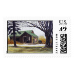Rickety Old Barn-stamps