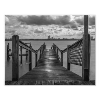 Rickety Old Dock On The Bay Photo