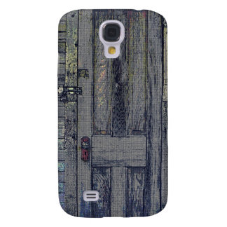 Rickety Wooden Shed Door Samsung Galaxy S4 Cover