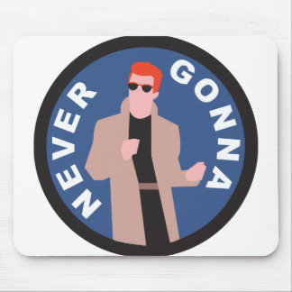 Rickroll Mouse Pad