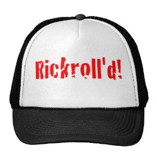 rickrolled gorras