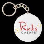 Rick's Cabaret Keychain