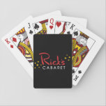 Rick's Cabaret Playing Cards