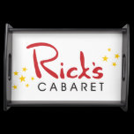 Rick's Cabaret Serving Tray