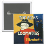 Ricks Loomatiks Personalized Button Square