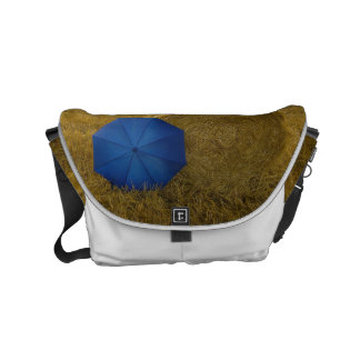 Rickshaw curing ashes - edition blue screen II Small Messenger Bag