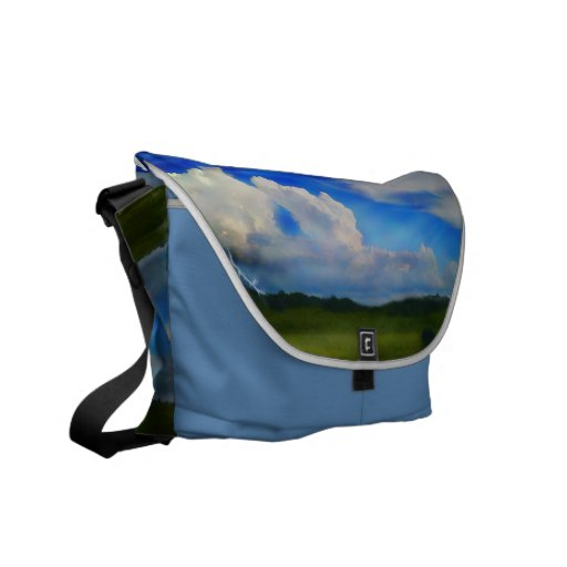 Rickshaw Heavens by Cindy Ginter Courier Bag