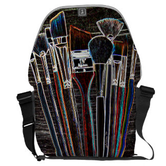 Rickshaw Large Zero Messenger Bag Paint Brush