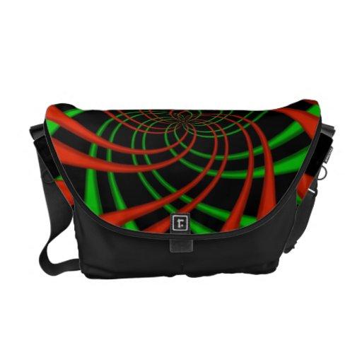 """Rickshaw Messenger Bag"" Art Designs by Christine"