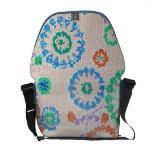 Rickshaw Messenger Bag mosaic design