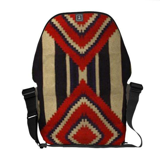 Rickshaw Messenger Bag - Native American Design