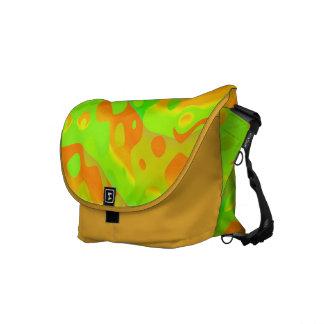 Rickshaw Messenger Bag Orange Lime