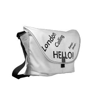 """Rickshaw Messenger Bag """"..The Londoner Bag.."""""""