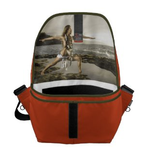 Rickshaw Messenger Bag - Warrior Pose