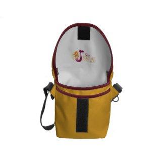 Rickshaw Mini Messenger Bag, I was MERMAID FOR YOU Courier Bag
