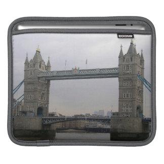 Rickshaw Sleeve with Tower Bridge over the Thames iPad Sleeves