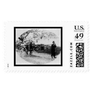 Rickshaw Travel Hong Kong1905 Postage Stamps