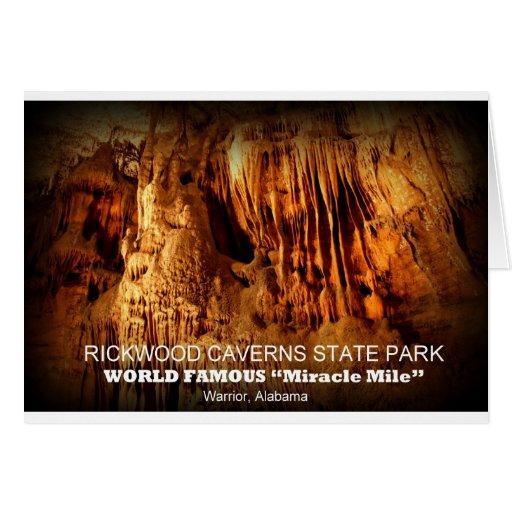 RICKWOOD CAVERNS STATE PARK - WARRIOR, ALABAMA CARD