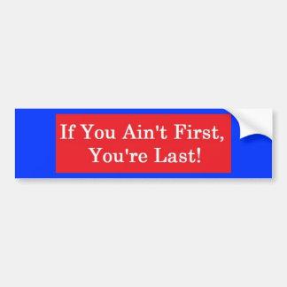 Ricky Bobby Bumper Sticker Car Bumper Sticker
