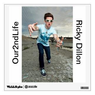 Ricky Dillon Wall Dec. Wall Sticker