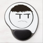 "Ricky Grump Mouse Pad<br><div class=""desc"">Do you need a mouse pad,  or just don&#39;t have one and would like one?  Have no more fear,  because the Ricky Grump is here!  Now on mouse pads,  you can have your very own custom Ricky Grump by your side while playing your favorite games!</div>"