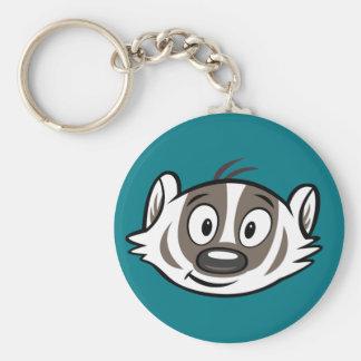 Ricky Raccoon | Boomer Badger Face Keychain