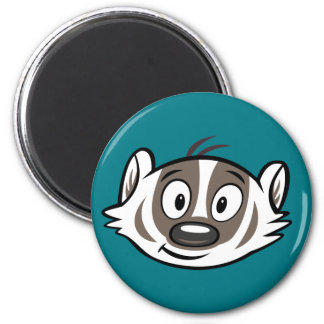 Ricky Raccoon | Boomer Badger Face Magnet