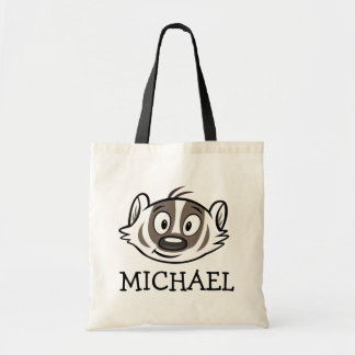 Ricky Raccoon | Boomer Badger Face Tote Bag