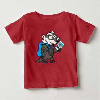 Ricky Raccoon | Boomer Badger Selfie Baby T-Shirt